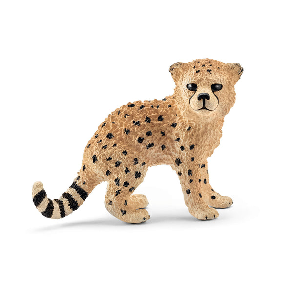Schleich Wild Life Cheetah Cub Animal Figure
