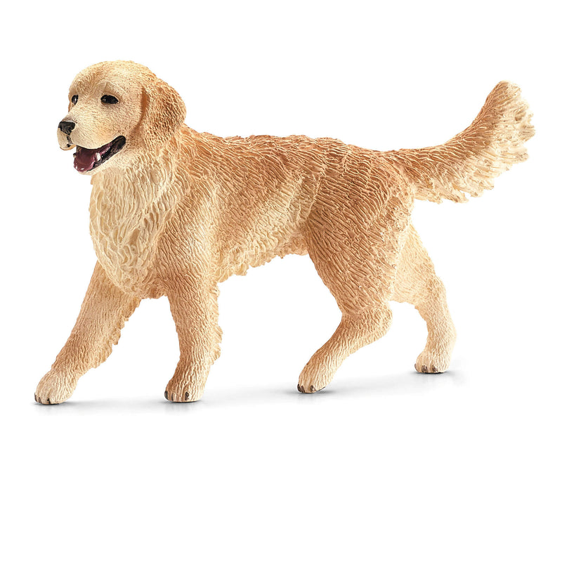Schleich Farm World Female Golden Retriever Animal Figure