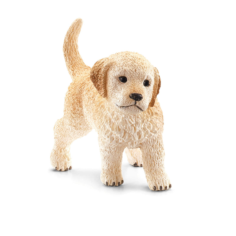 Schleich Farm World Golden Retriever Puppy Animal Figure