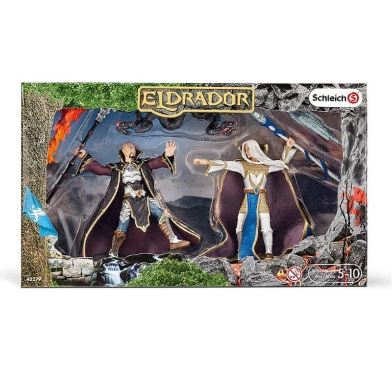 Schleich Eldrador Magician with Blood Viper Set