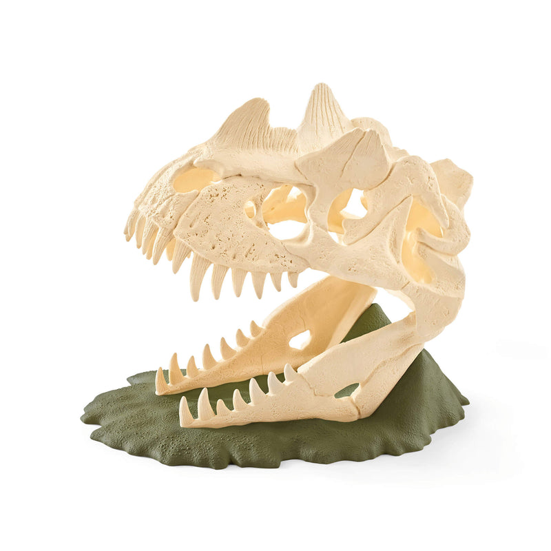 Schleich Dinosaurs Large Skull Trap With Velociraptor Play Set