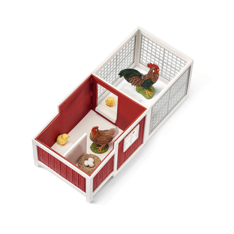 Schleich Farm World Chicken Coop Play Set