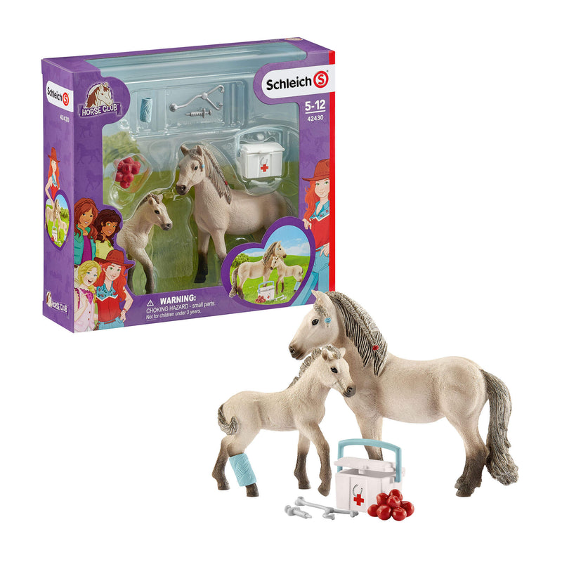 Schleich Horse Club Horse Club Hannah's First-Aid Kit Play Set