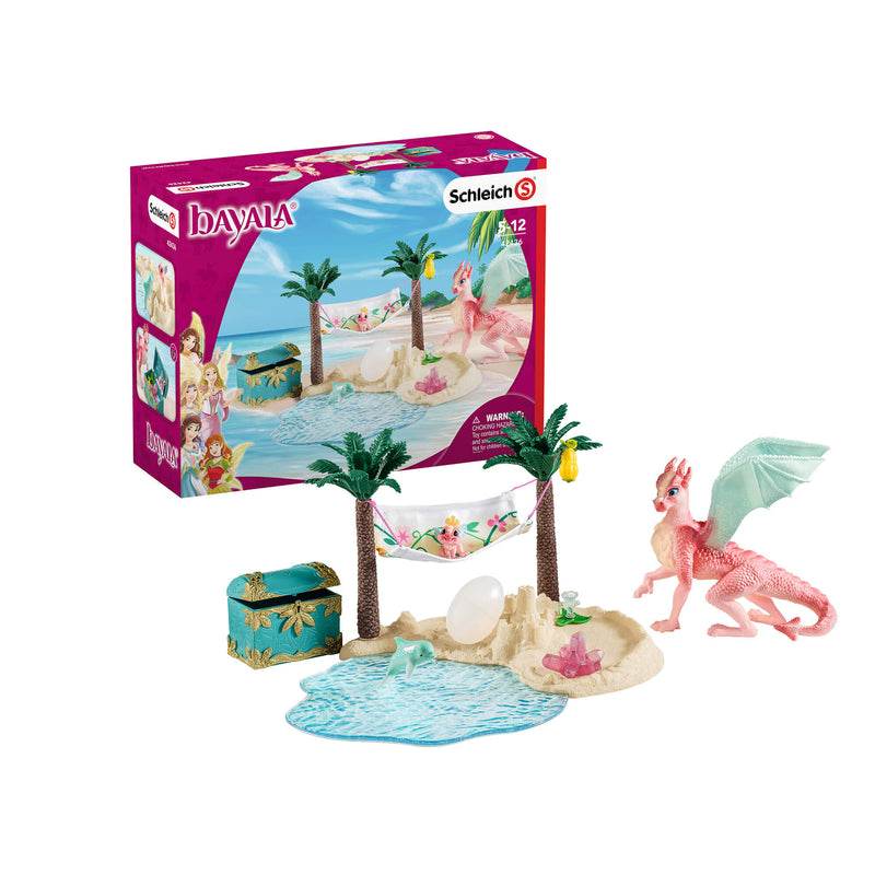 Schleich Bayala Dragon Island With Treasure Set