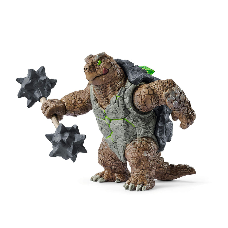 Schleich Eldrador Creatures Armoured Turtle With Weapon Figure