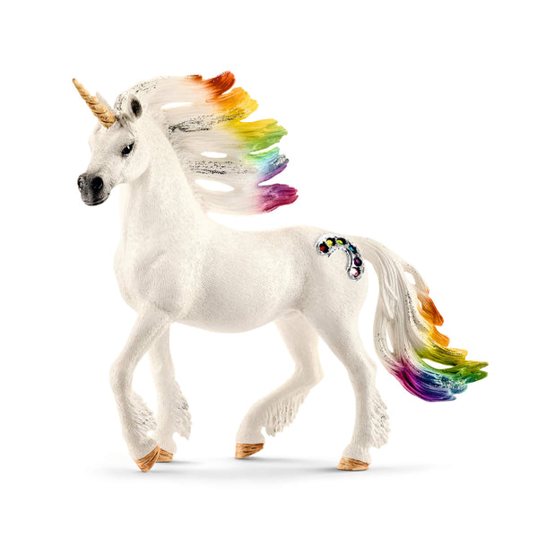 Schleich Bayala Rainbow Unicorn Stallion Animal Figure