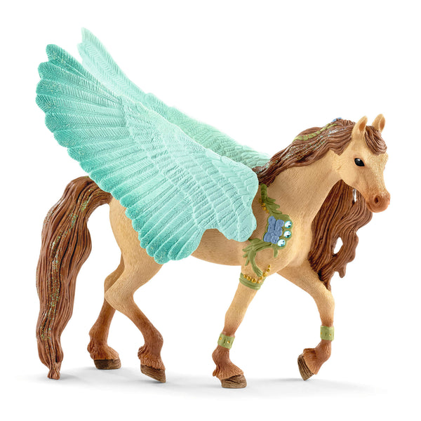 Schleich Bayala Decorated Pegasus Stallion Animal Figure