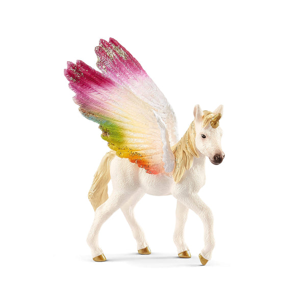 Schleich Bayala Winged Rainbow Unicorn Foal Exclusive Figure