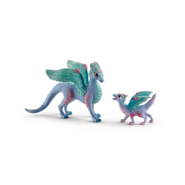 Schleich Bayala Flower Dragon and Baby Figures