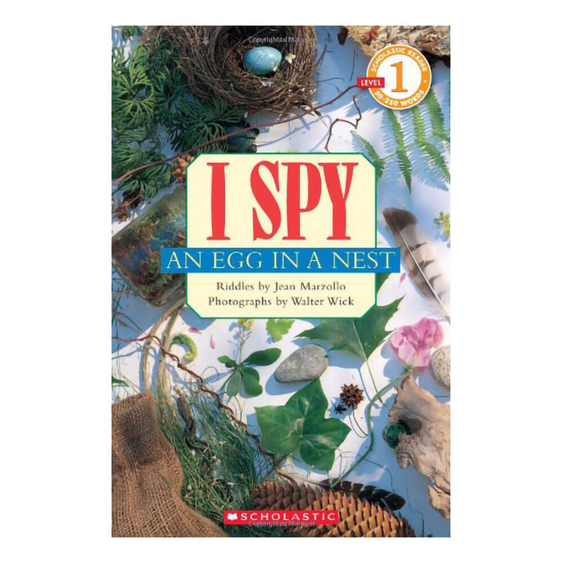 I Spy an Egg in a Nest (Scholastic Reader, Level 1)