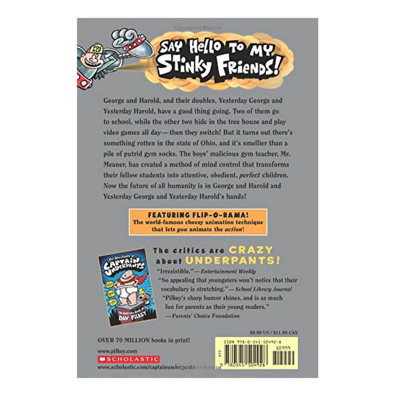 Captain Underpants and the Sensational Saga of Sir Stinks-A-Lot (