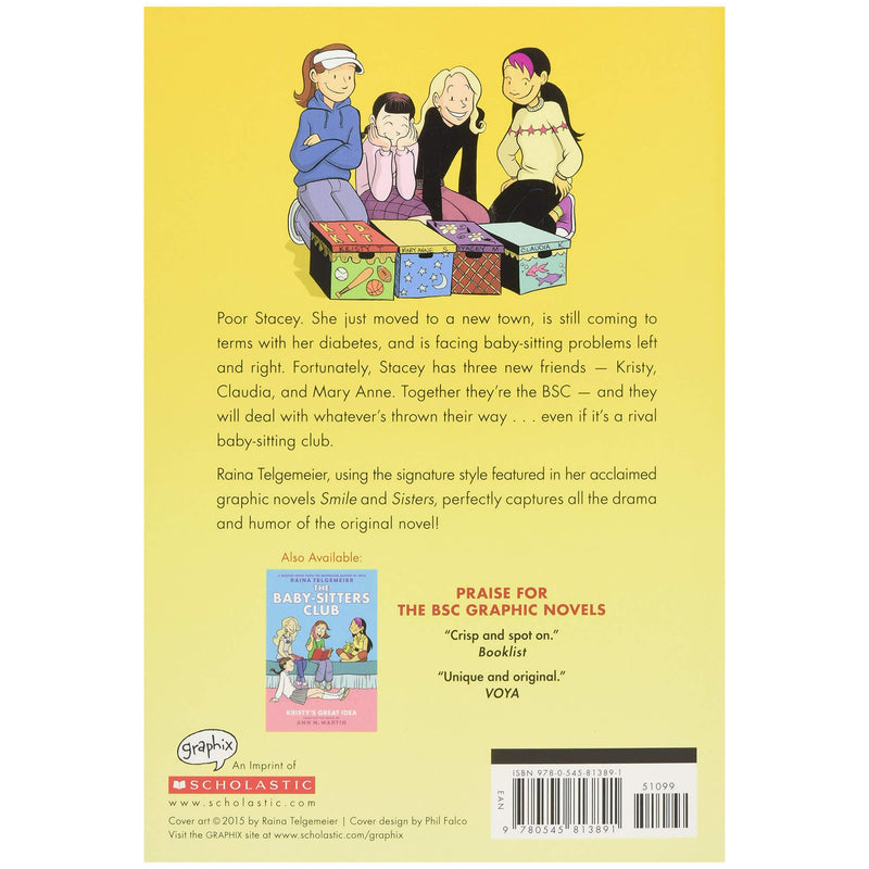 The Truth About Stacey (The Baby-Sitters Club Graphic Novel