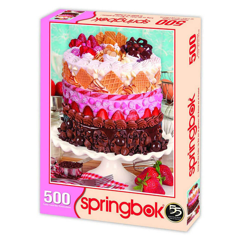 Springbok Icing on the Cake 500 Piece Jigsaw Puzzle