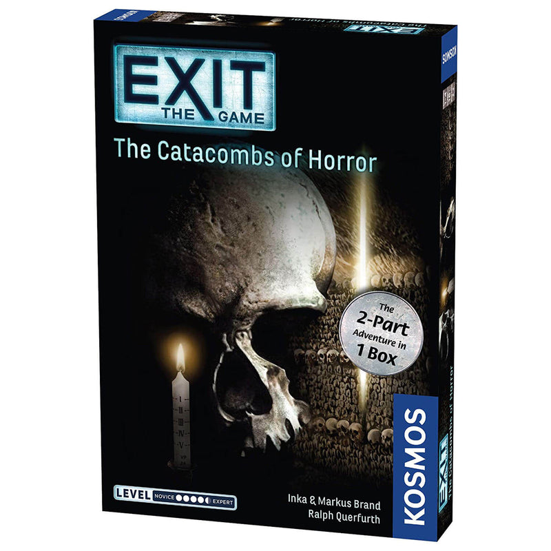 Thames and Kosmos EXIT The Catacombs of Horror Parts 1 & 2