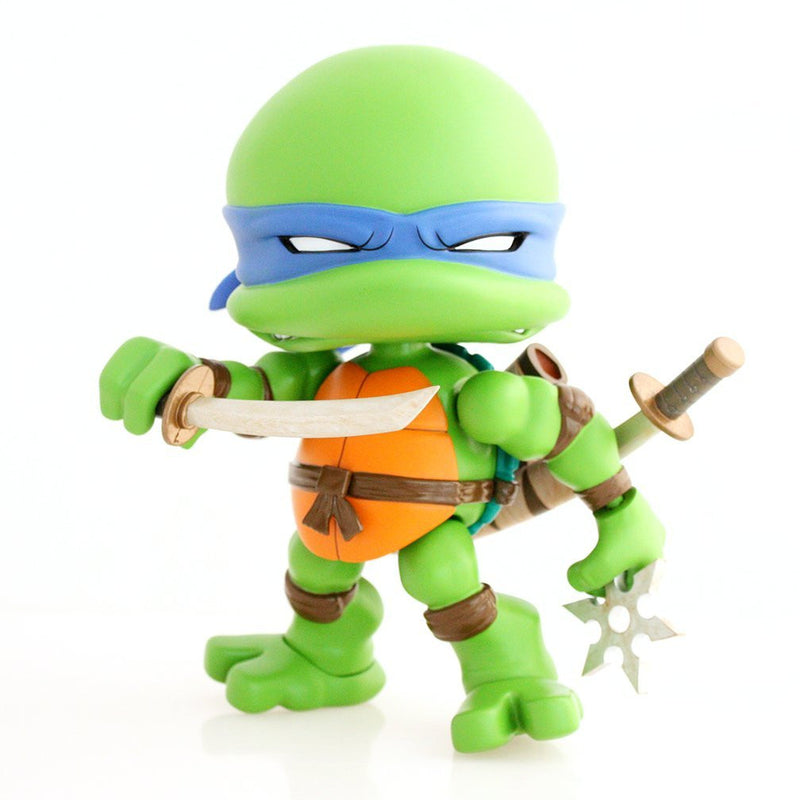 The Loyal Subjects X Teenage Mutant Ninja Turtles Wave 1 - Leonardo Vinyl Action Figure