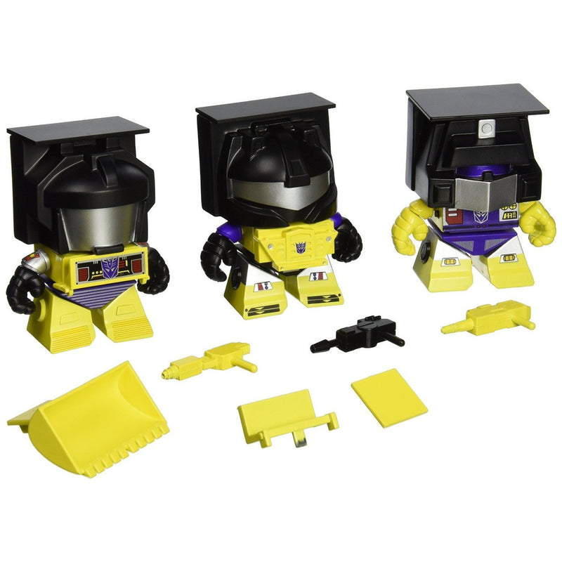 Transformers Yellow Construction 3-Pack - 2015 SDCC Exclusive