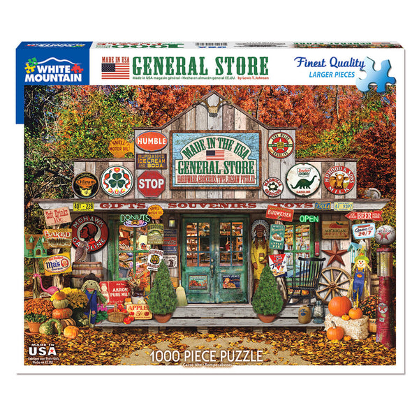 White Mountain Puzzles General Store 1000 Piece Jigsaw Puzzle