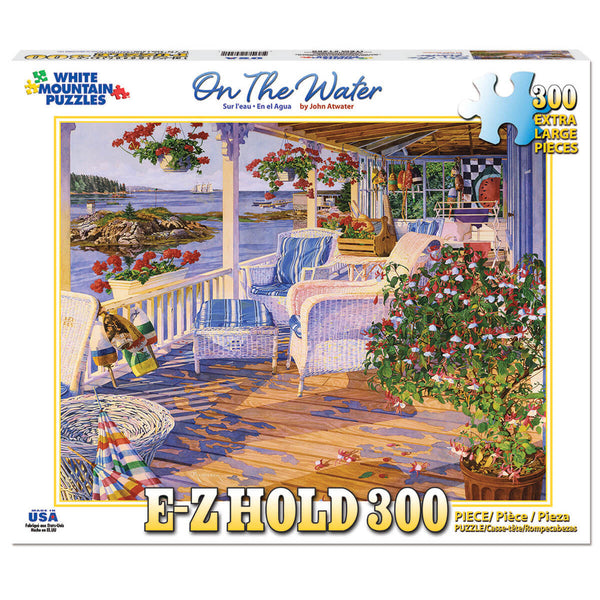 White Mountain Puzzles On The Water 300 Piece Jigsaw Puzzle