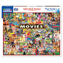 White Mountain Puzzles The Movies 1000 Piece Jigsaw Puzzle