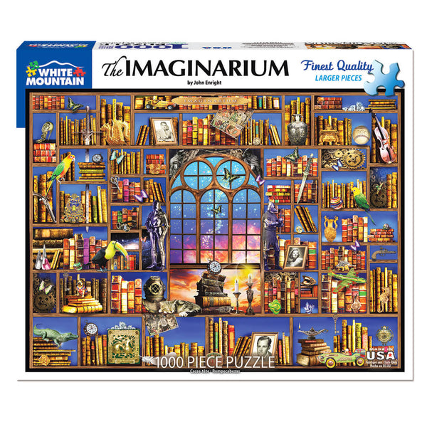 White Mountain Puzzles Imaginarium 1000 Piece Jigsaw Puzzle