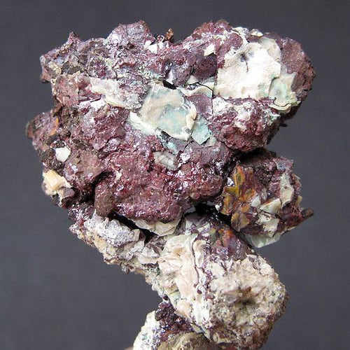 Native copper with cuprite from the Ray Mine, Arizona