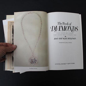 The Book of Diamonds by Joan Younger Dickinson, hardback book