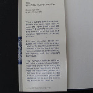 The Jewelry Repair Manual by R. Allen Hardy, hardback book