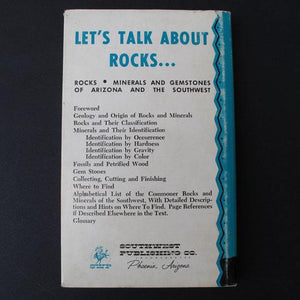 Let's Talk About Rocks! by Charles Dunning and Lee Hammons, hardback book