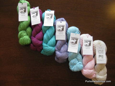 Juniper Moon Farm Neve-worsted chainette cotton