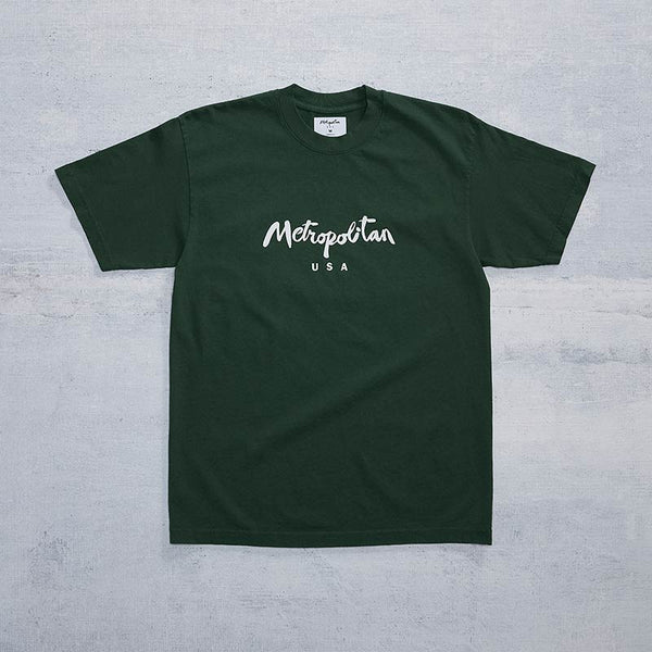 Classic Logo Tee / Forest