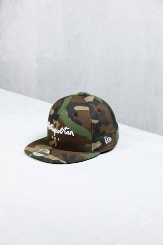 Metropolitan USA New Era Woodland Camo