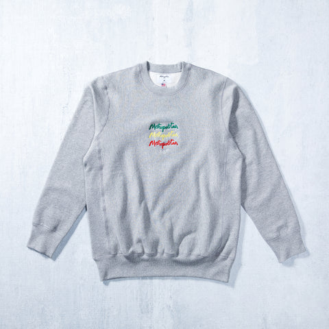 Jah Stack Crew Neck Heather