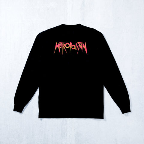 Dystopia L/S Pocket T-Shirt Black