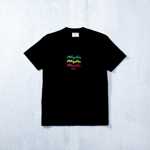 Jah Stack T-Shirt Black
