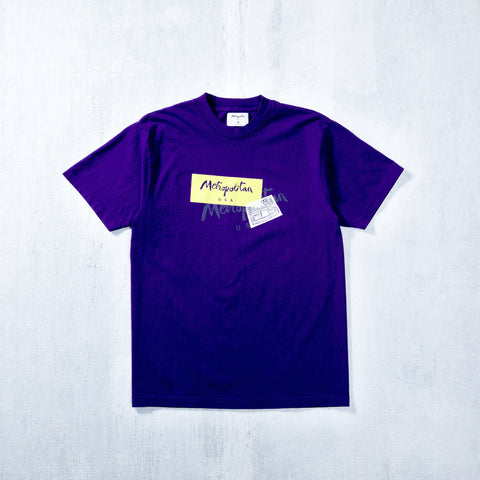 Mola Test T-Shirt Purple