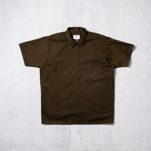 Metropolitan Zip Front Work Shirt