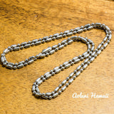 Fishhook Pendant Handmade with 925 Sterling Silver (20mm x 35mm FREE Stainless Chain Included) - Aolani Hawaii - 2