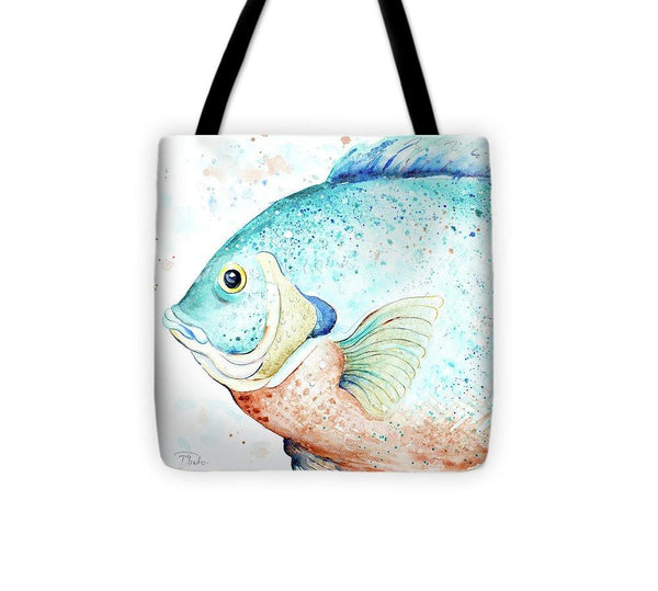 Water Fish Tote Bag