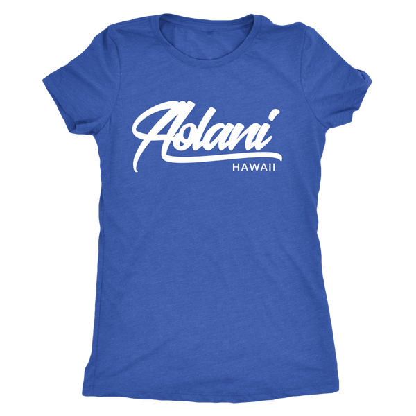 Womens Aolani Hawaii Logo Wear T-shirt