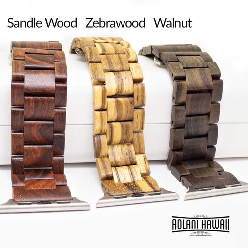 NEW - Wood Apple Watch Bands