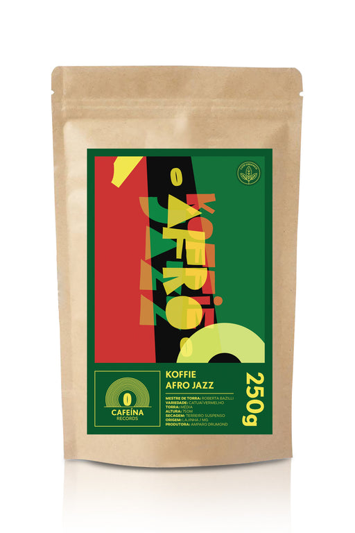 ♫ Koffie Afro Jazz | CAFEÍNA RECORDS | 250g