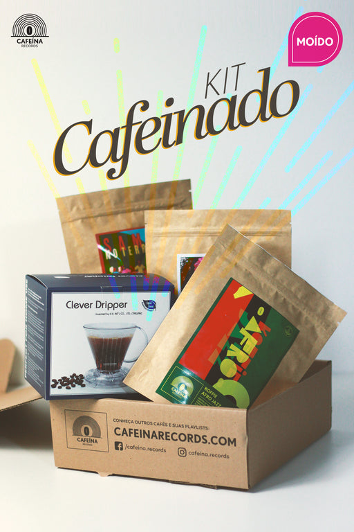 ♫ KIT CAFEINADO (Moído) | CAFEÍNA RECORDS
