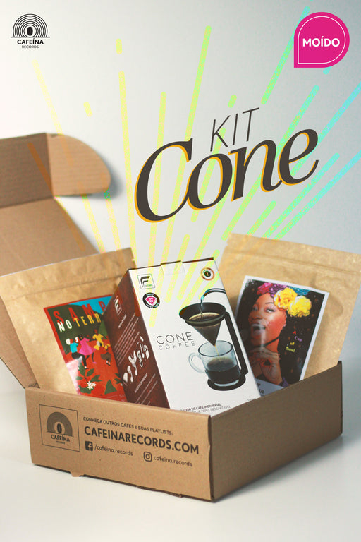 ♫ KIT CONE (Moído) | CAFEÍNA RECORDS