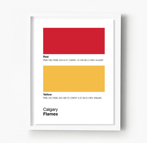 Ottawa Senators Gameday Colors Print