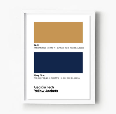georgia-tech-yellow-jackets-posters