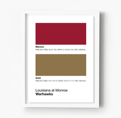 louisiana-at-monroe-warhawks-posters