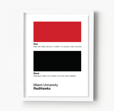 miami-university-redhawks-posters