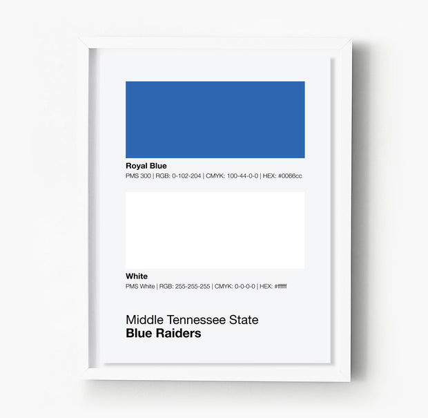 middle-tennessee-state-blue-raiders-posters