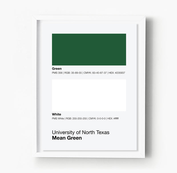 north-texas-mean-green-posters