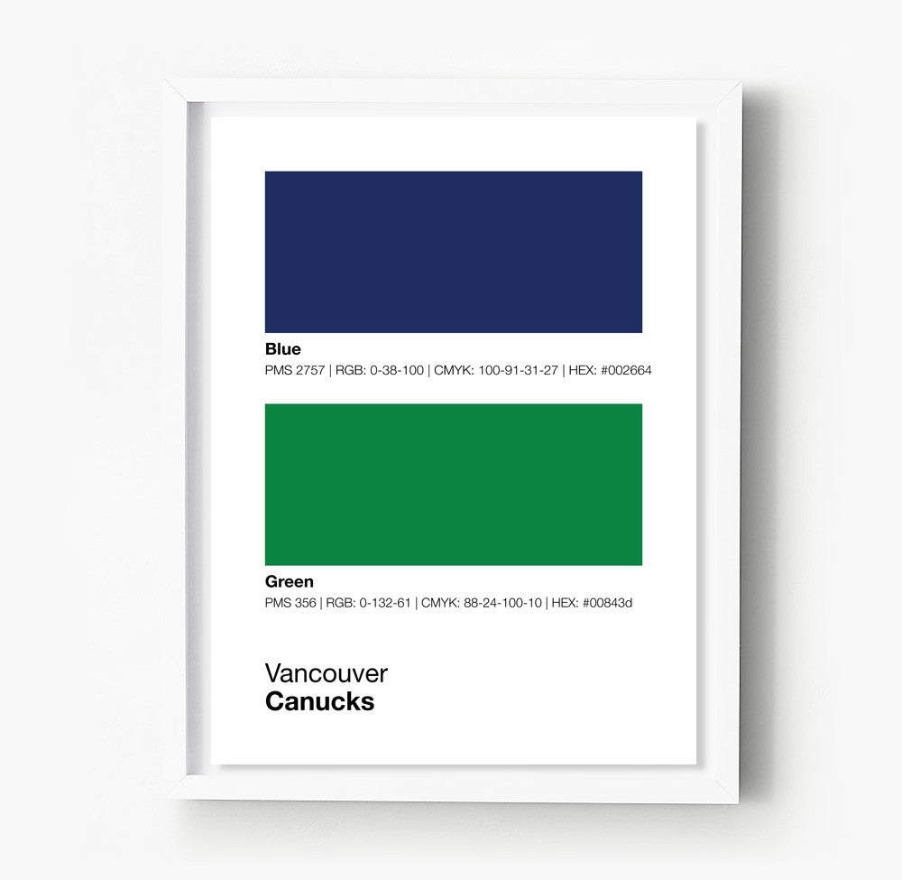 Color printing downtown vancouver -  Vancouver Canucks Posters